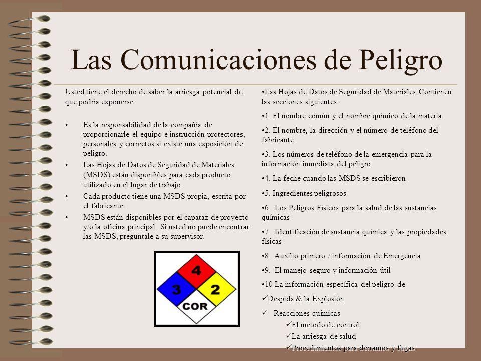 Las Comunicaciones de Peligro