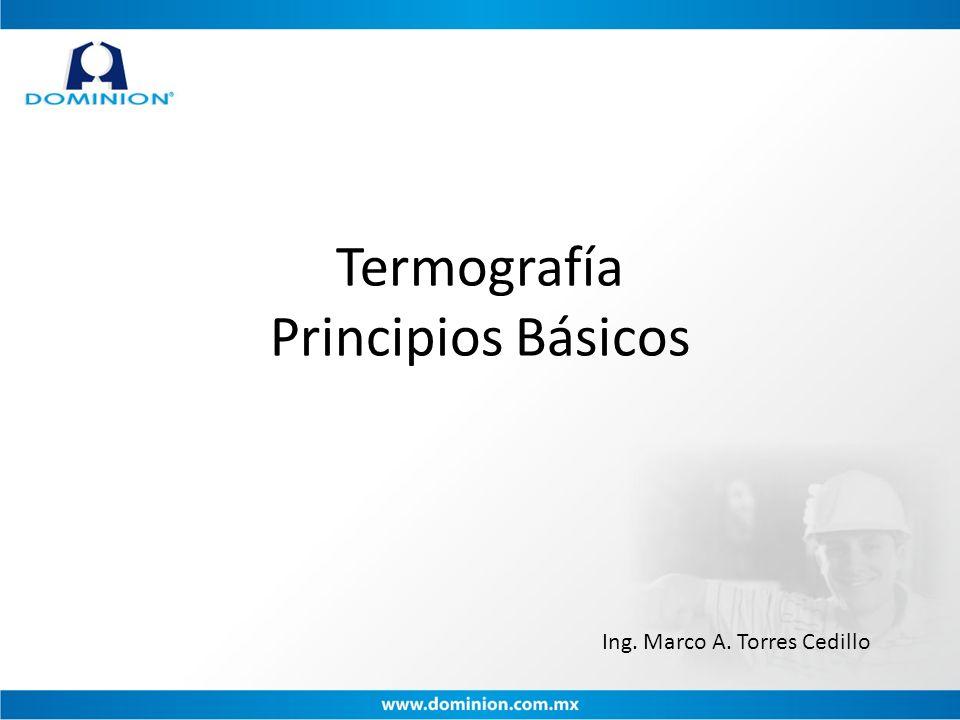 Termografía Principios Básicos