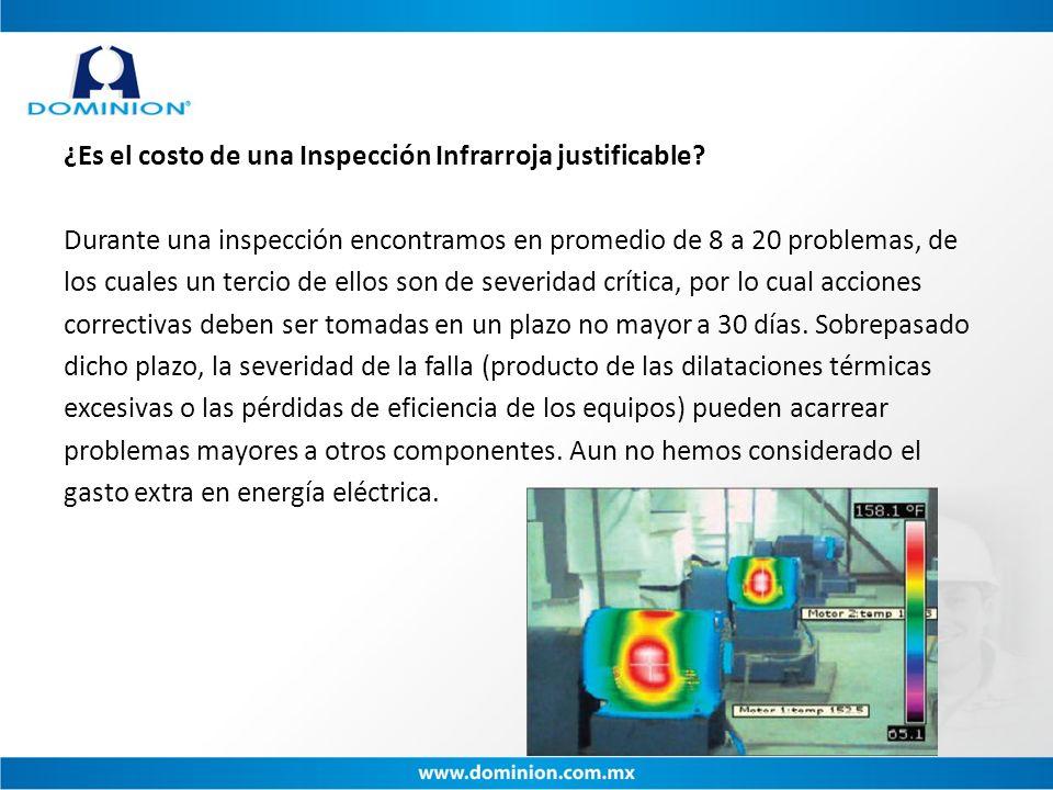 ¿Es el costo de una Inspección Infrarroja justificable
