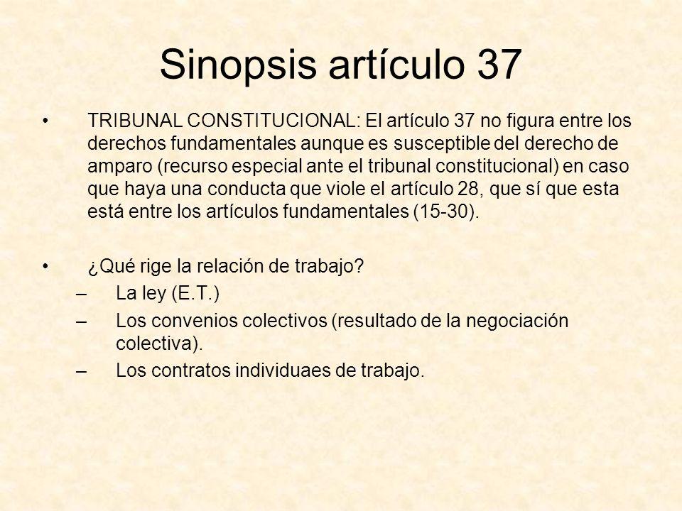 Sinopsis artículo 37