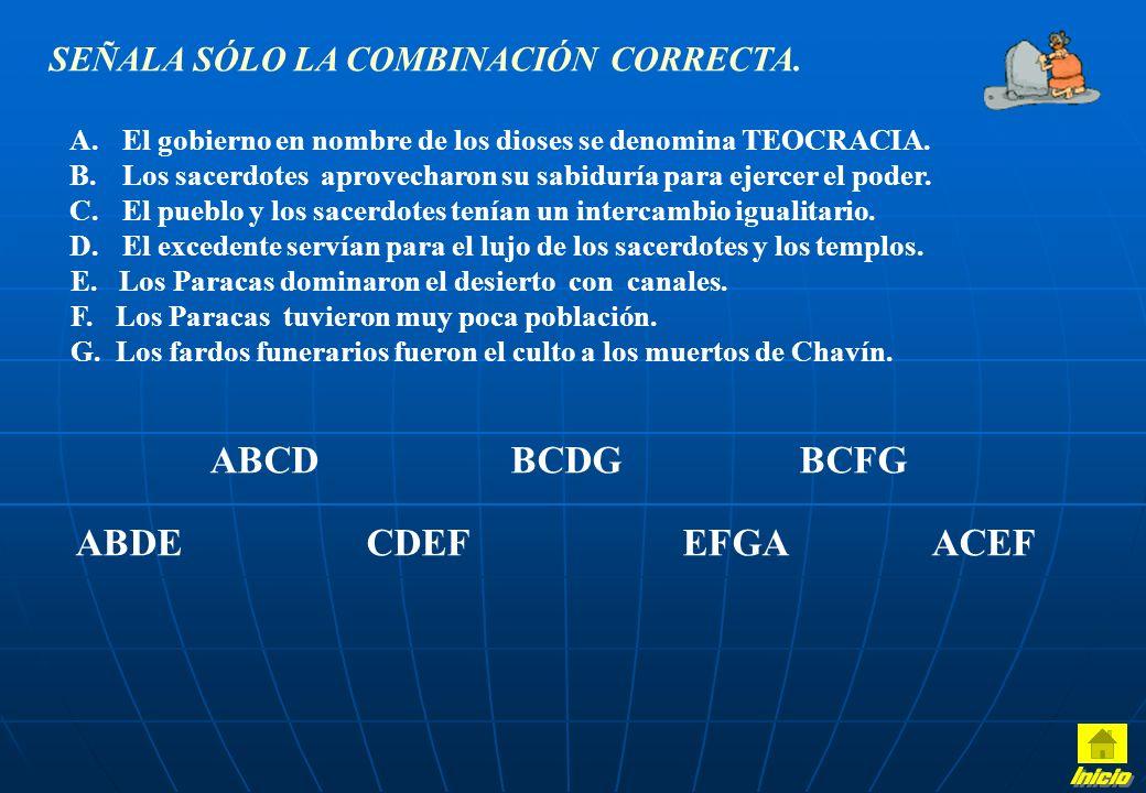 Inicio ABCD BCDG BCFG ABDE CDEF EFGA ACEF