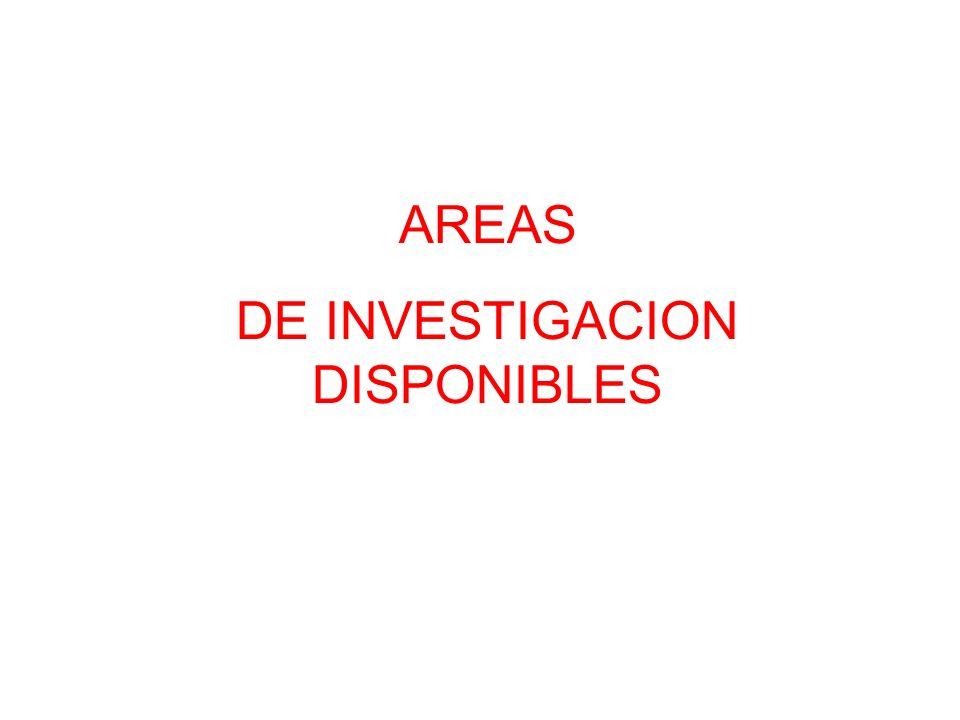 DE INVESTIGACION DISPONIBLES
