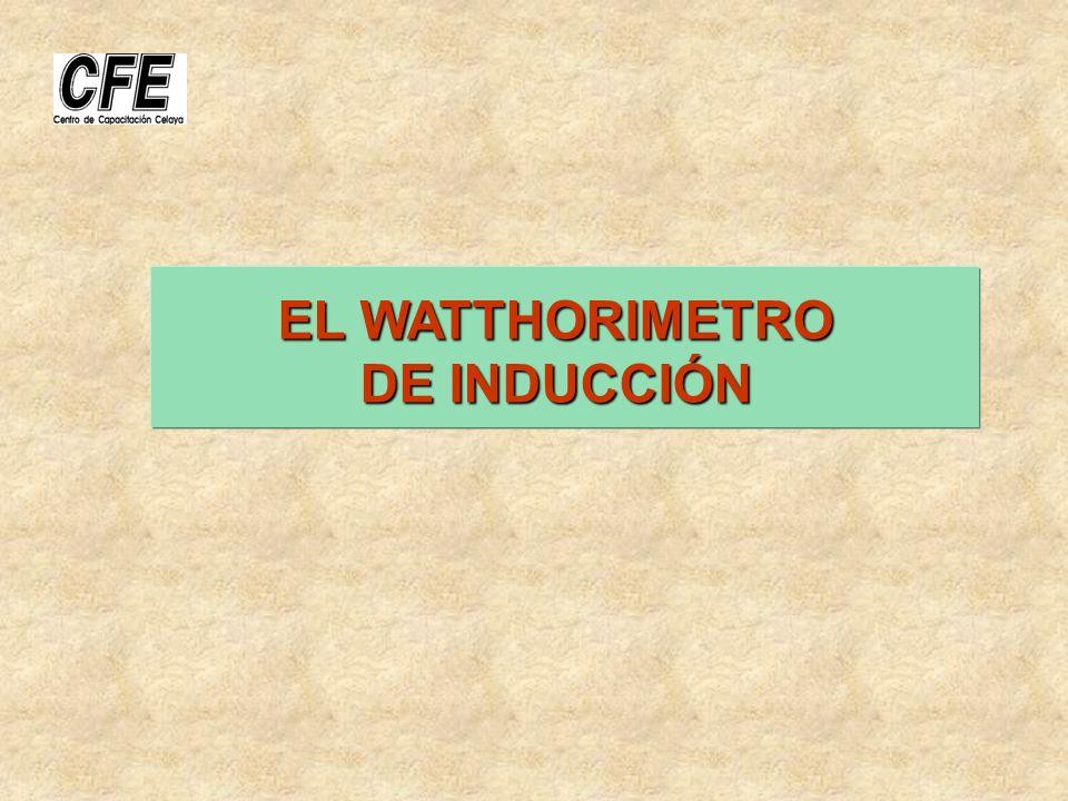 EL WATTHORIMETRO DE INDUCCIÓN