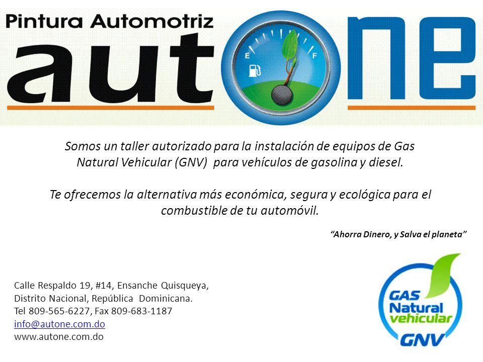 Somos un taller autorizado para la instalación de equipos de Gas Natural Vehicular (GNV) para vehículos de gasolina y diesel.