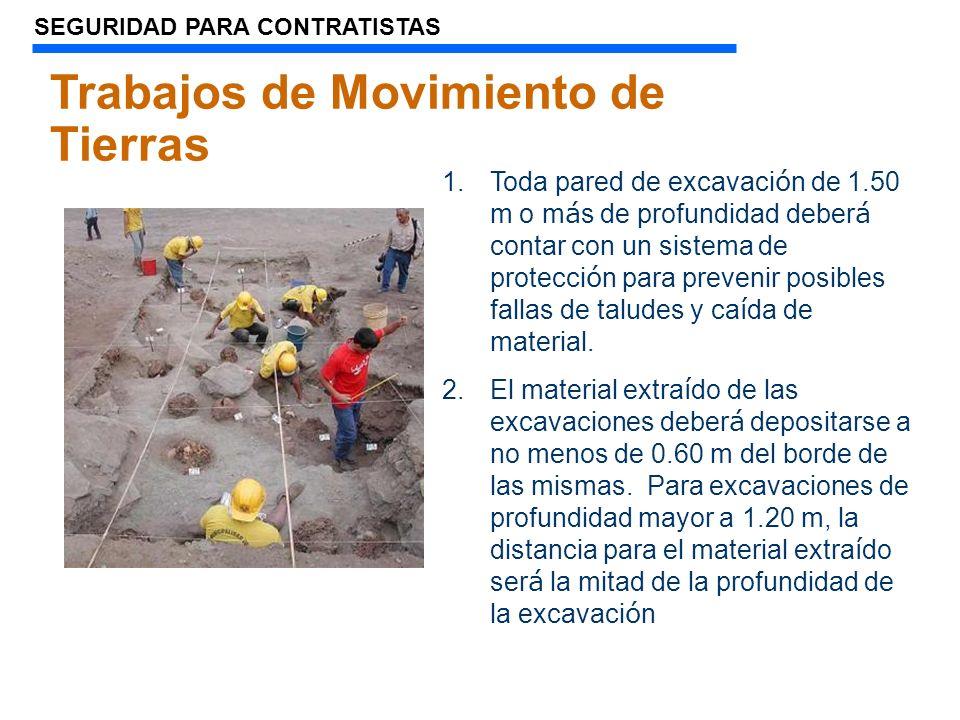 Trabajos de Movimiento de Tierras