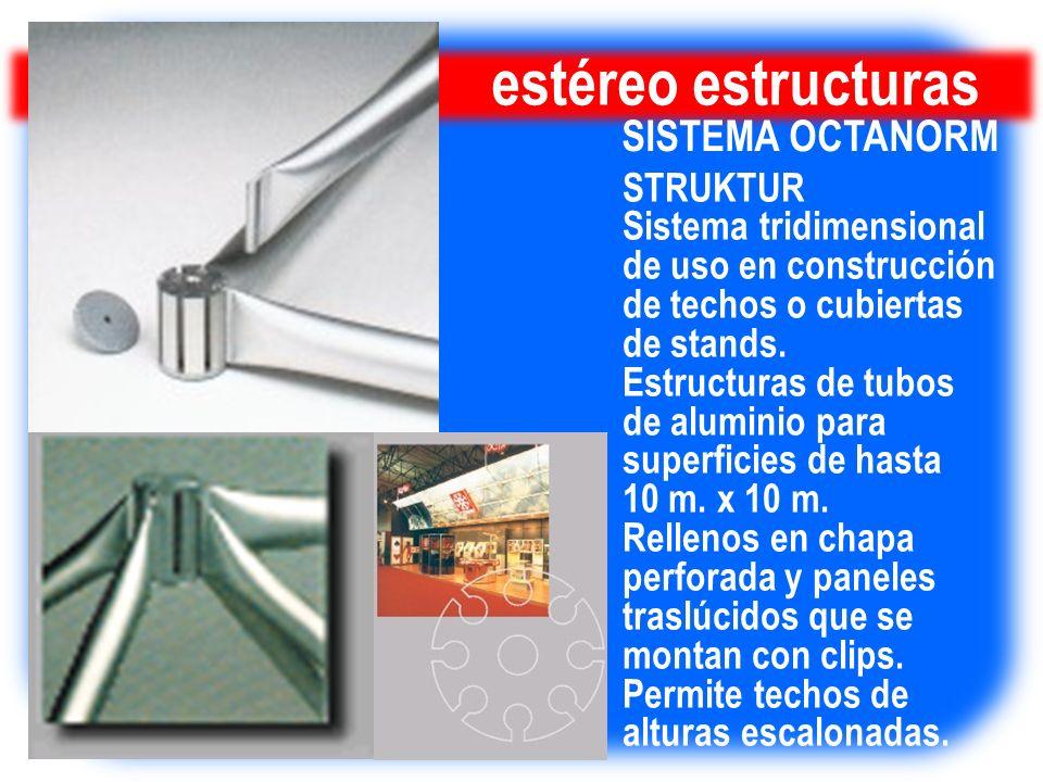 estéreo estructuras SISTEMA OCTANORM STRUKTUR