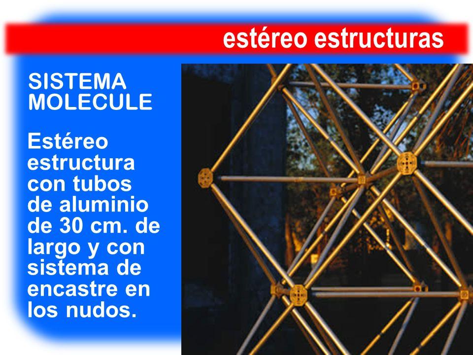 estéreo estructuras SISTEMA MOLECULE Estéreo