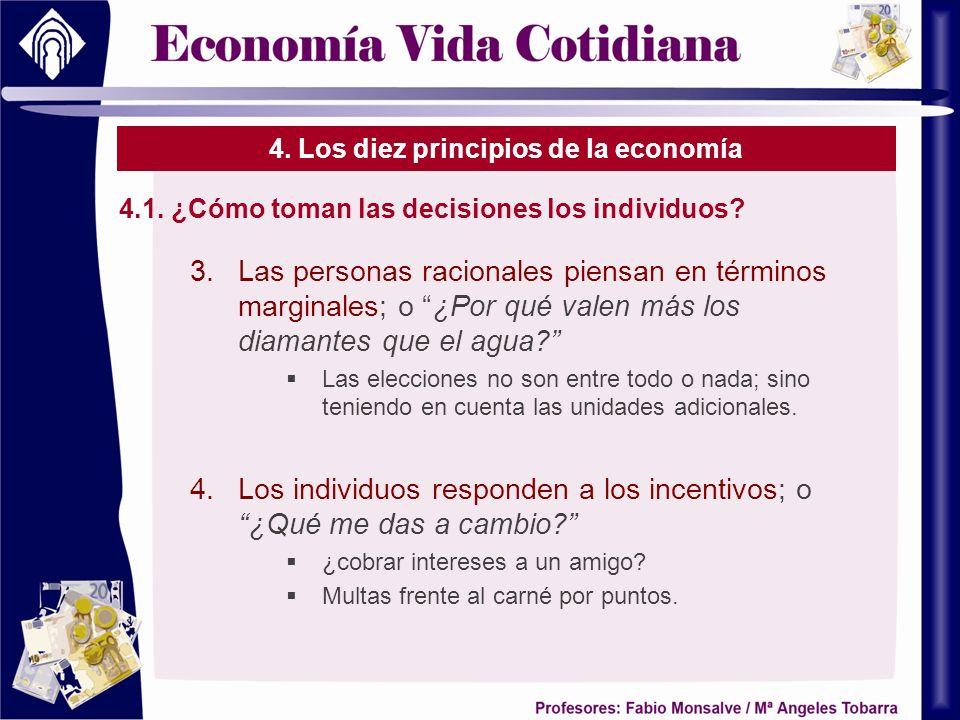 4. Los diez principios de la economía