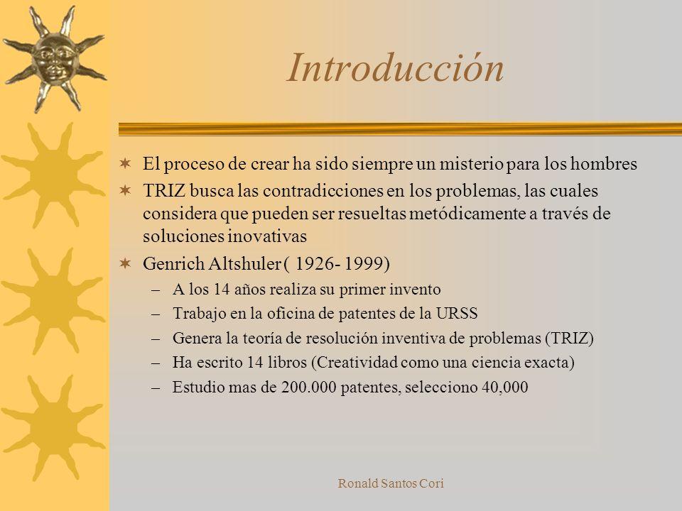 Introducción El proceso de crear ha sido siempre un misterio para los hombres.
