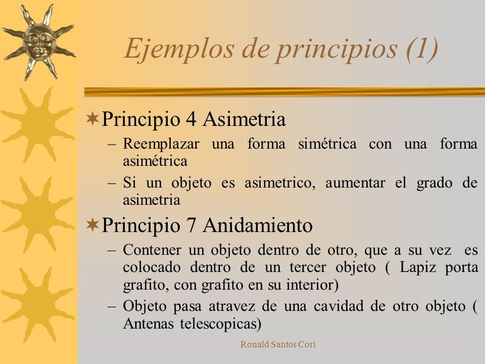 Ejemplos de principios (1)