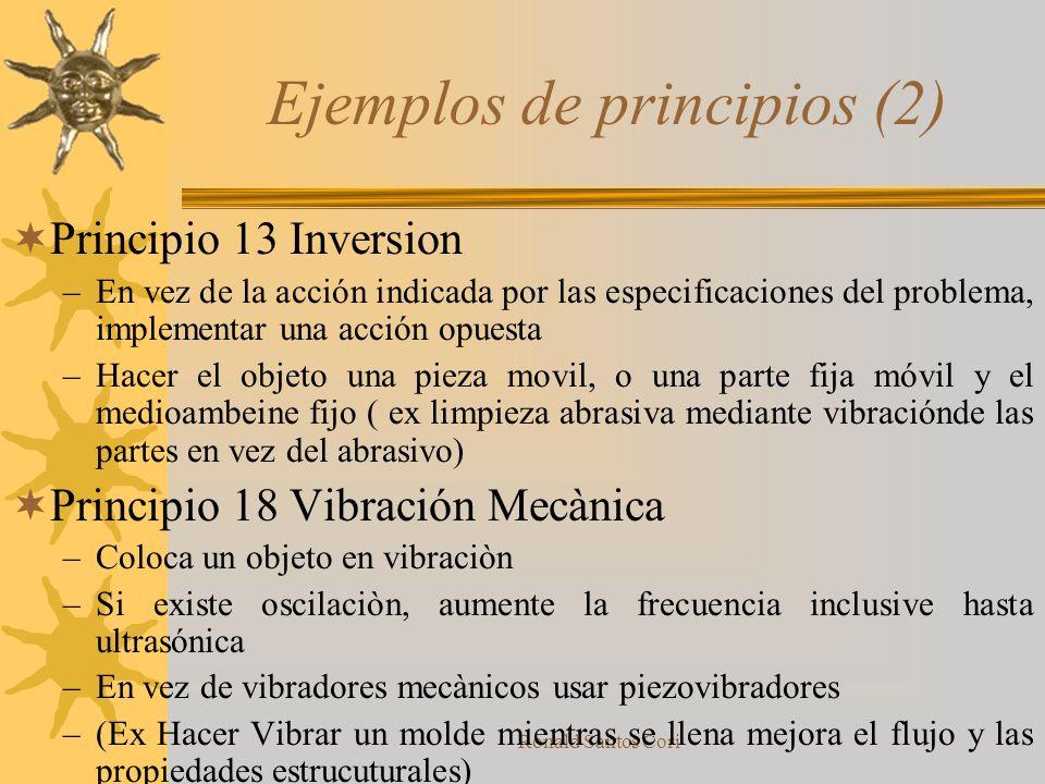 Ejemplos de principios (2)