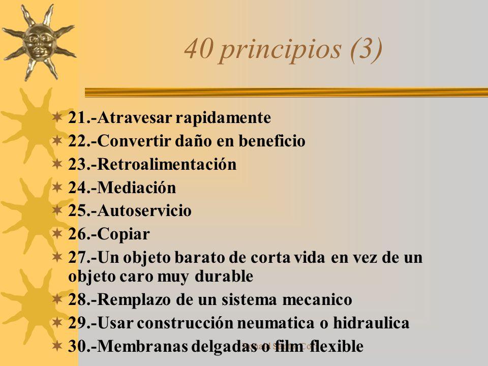 40 principios (3) 21.-Atravesar rapidamente