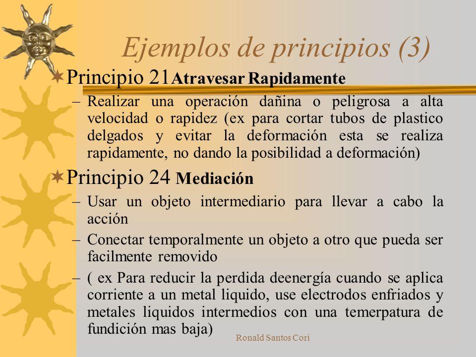 Ejemplos de principios (3)