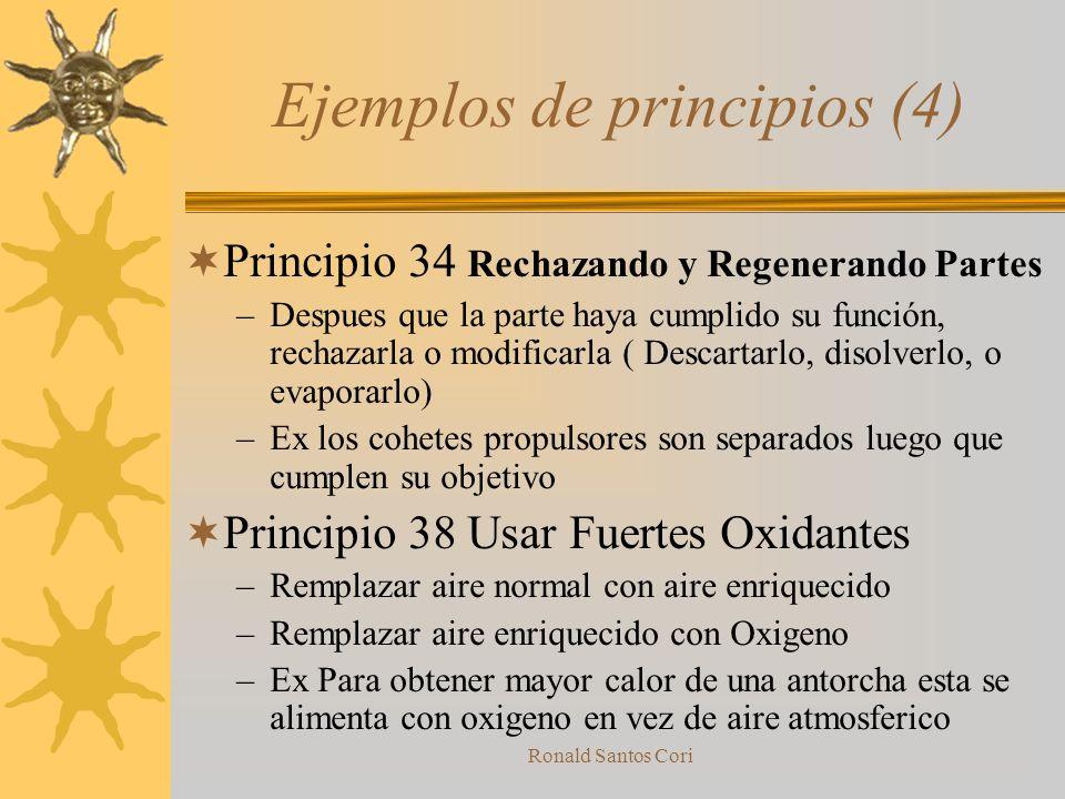 Ejemplos de principios (4)