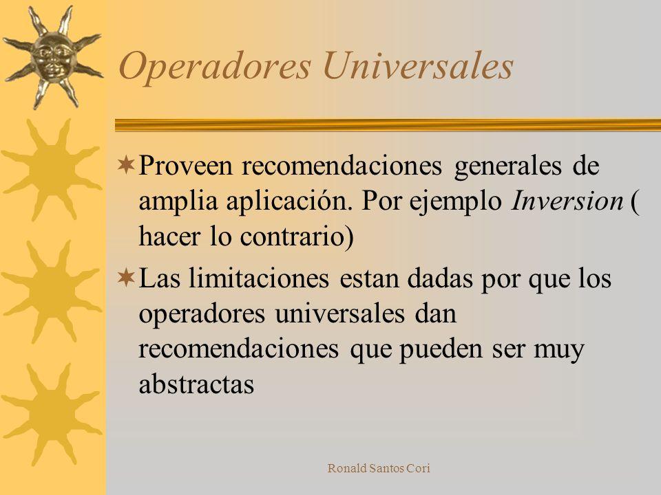Operadores Universales