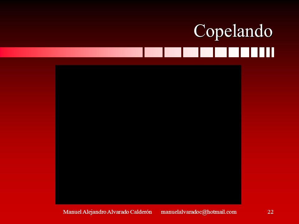Manuel Alejandro Alvarado Calderón manuelalvaradoc@hotmail.com