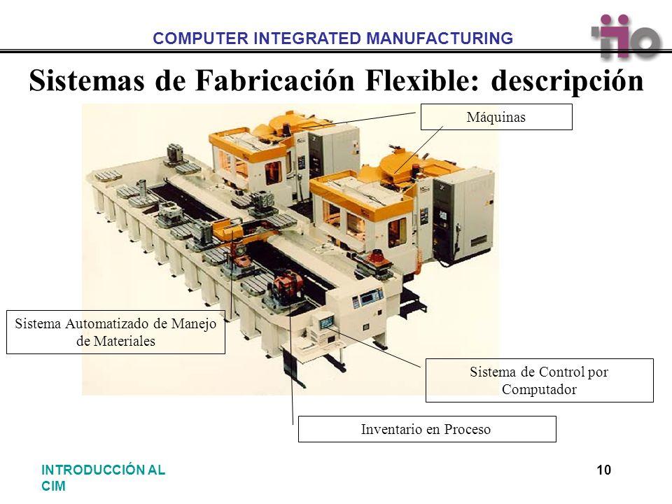 Sistemas de Fabricación Flexible: descripción