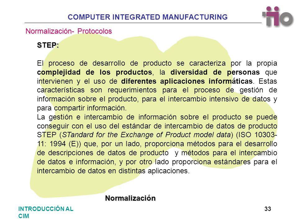 Normalización- Protocolos