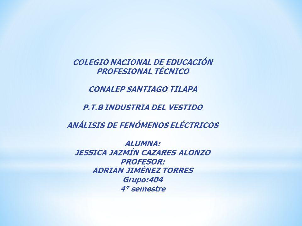 COLEGIO NACIONAL DE EDUCACIÓN PROFESIONAL TÉCNICO