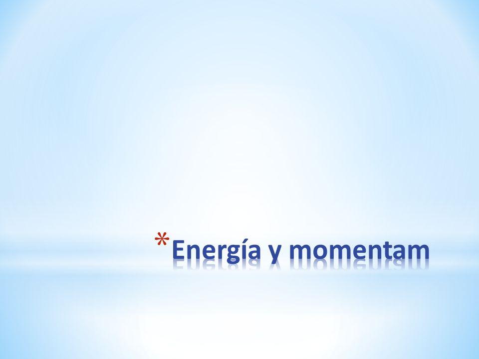 Energía y momentam