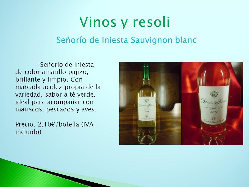 Señorío de Iniesta Sauvignon blanc