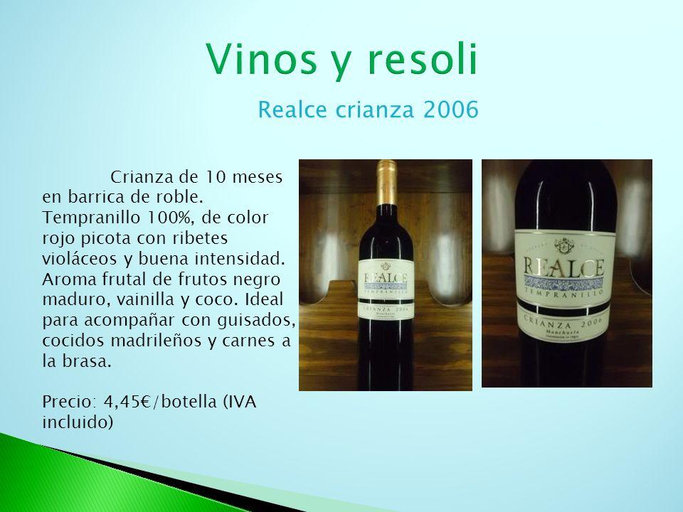 Vinos y resoli Realce crianza 2006