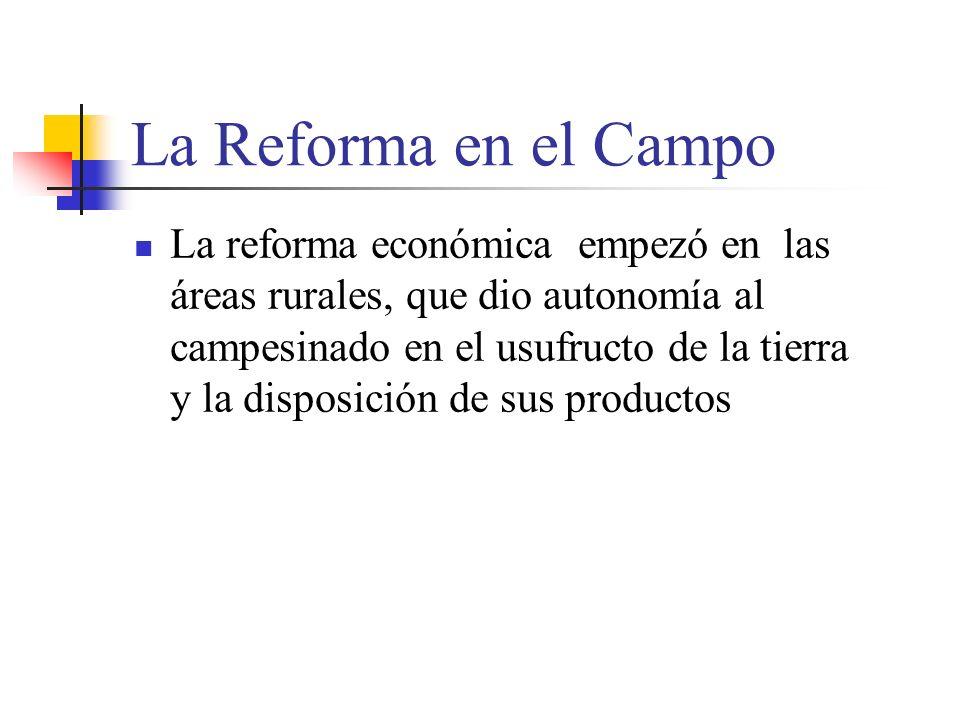 La Reforma en el Campo