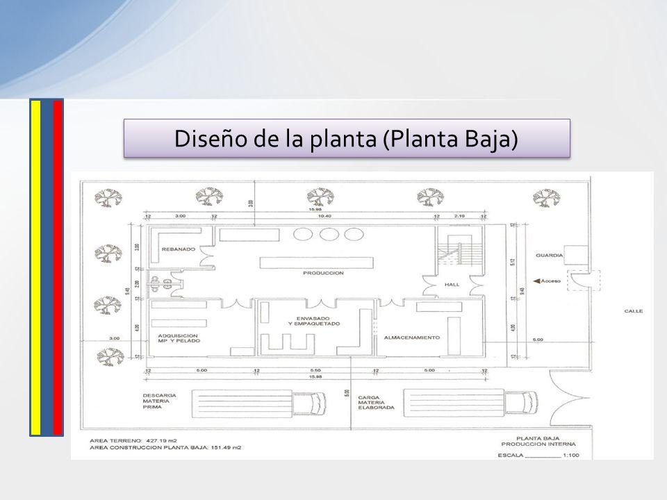 Diseño de la planta (Planta Baja)