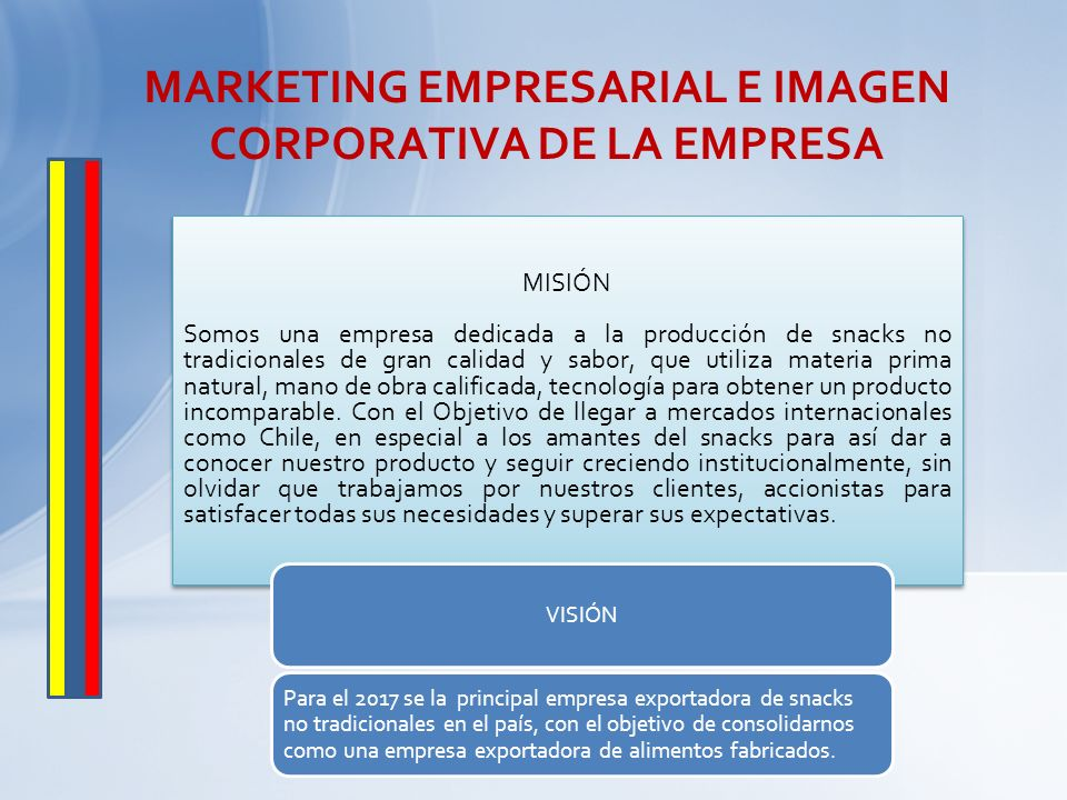 MARKETING EMPRESARIAL E IMAGEN CORPORATIVA DE LA EMPRESA