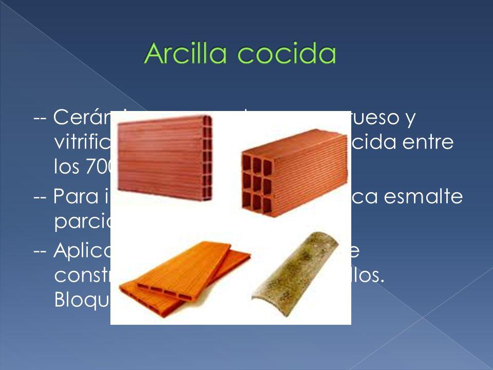 Arcilla cocida