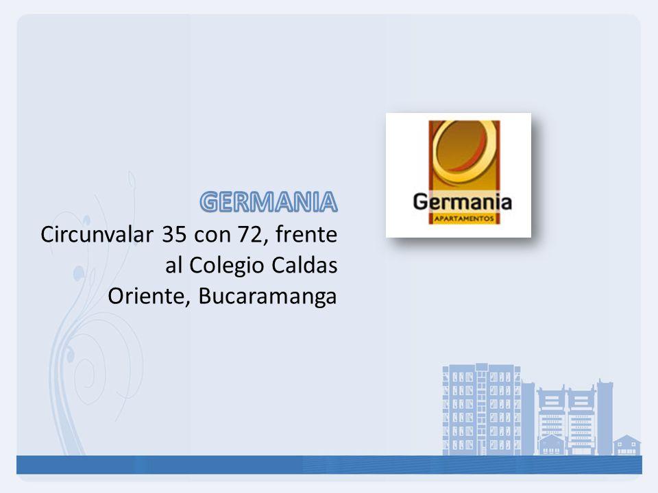 GERMANIA Circunvalar 35 con 72, frente al Colegio Caldas