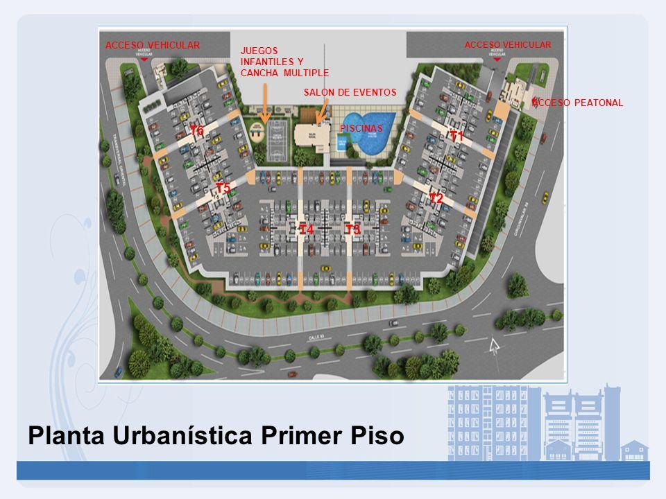 Planta Urbanística Primer Piso