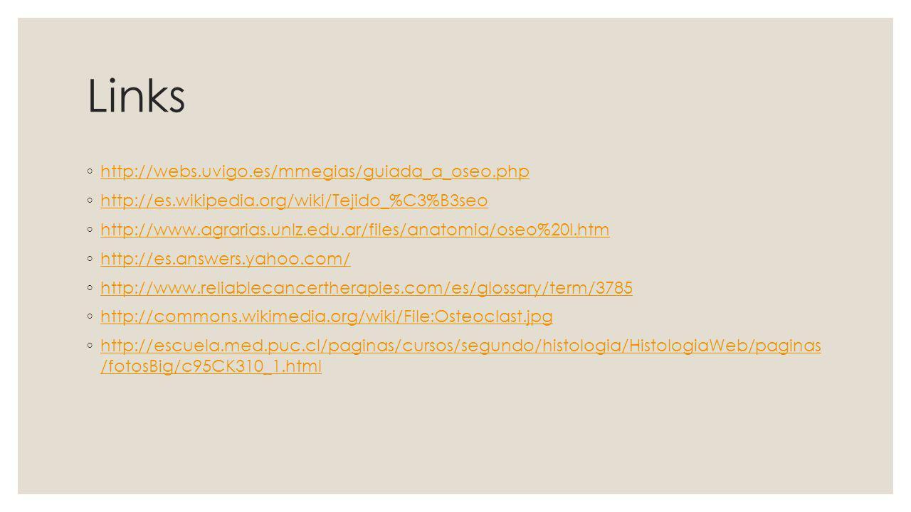 Links http://webs.uvigo.es/mmegias/guiada_a_oseo.php