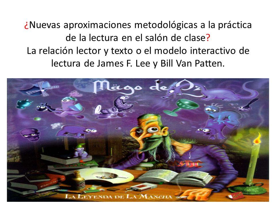 ¿Nuevas aproximaciones metodológicas a la práctica de la lectura en el salón de clase.