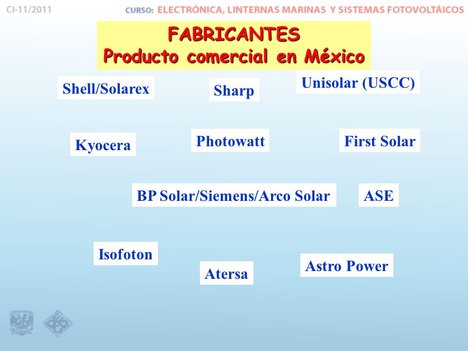 Producto comercial en México