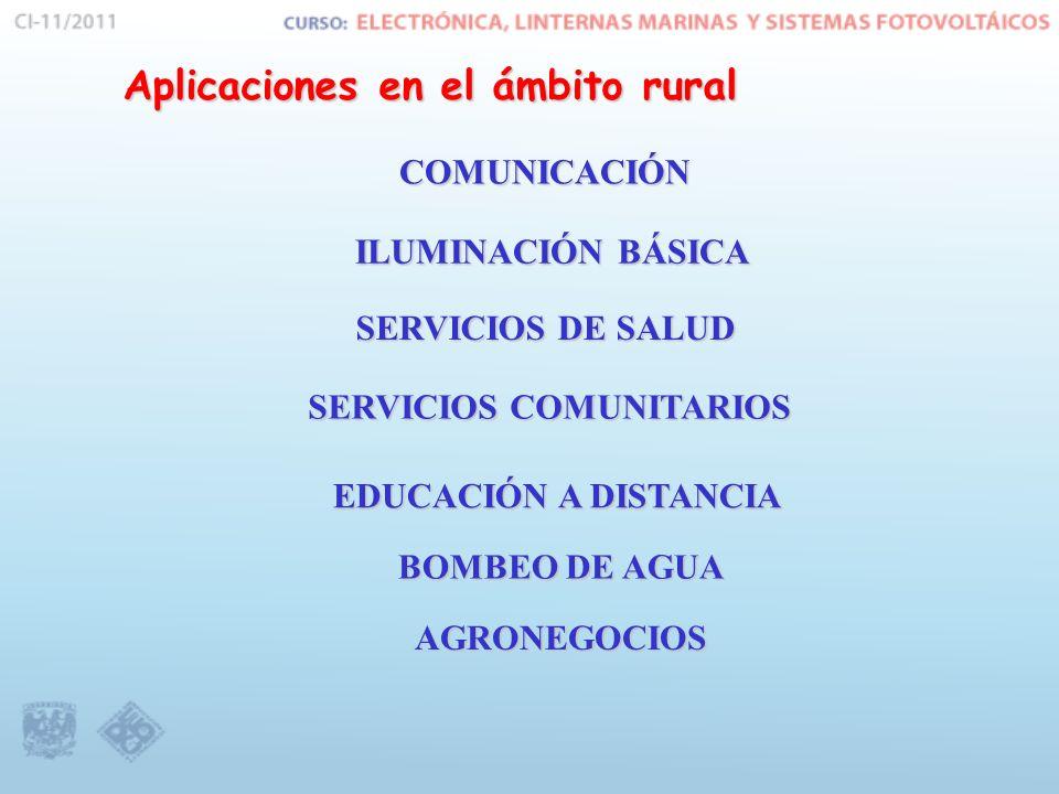Aplicaciones en el ámbito rural
