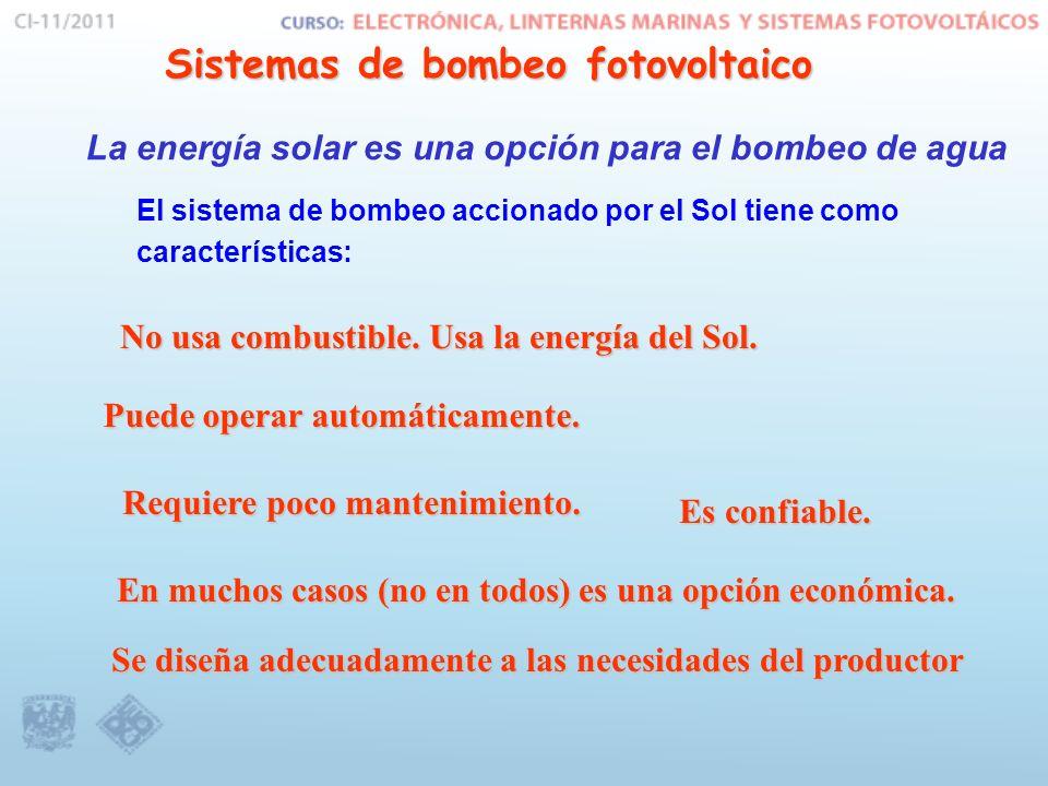 Sistemas de bombeo fotovoltaico