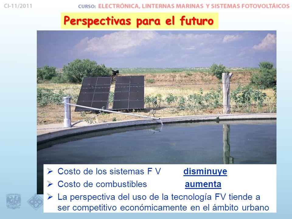 Perspectivas para el futuro