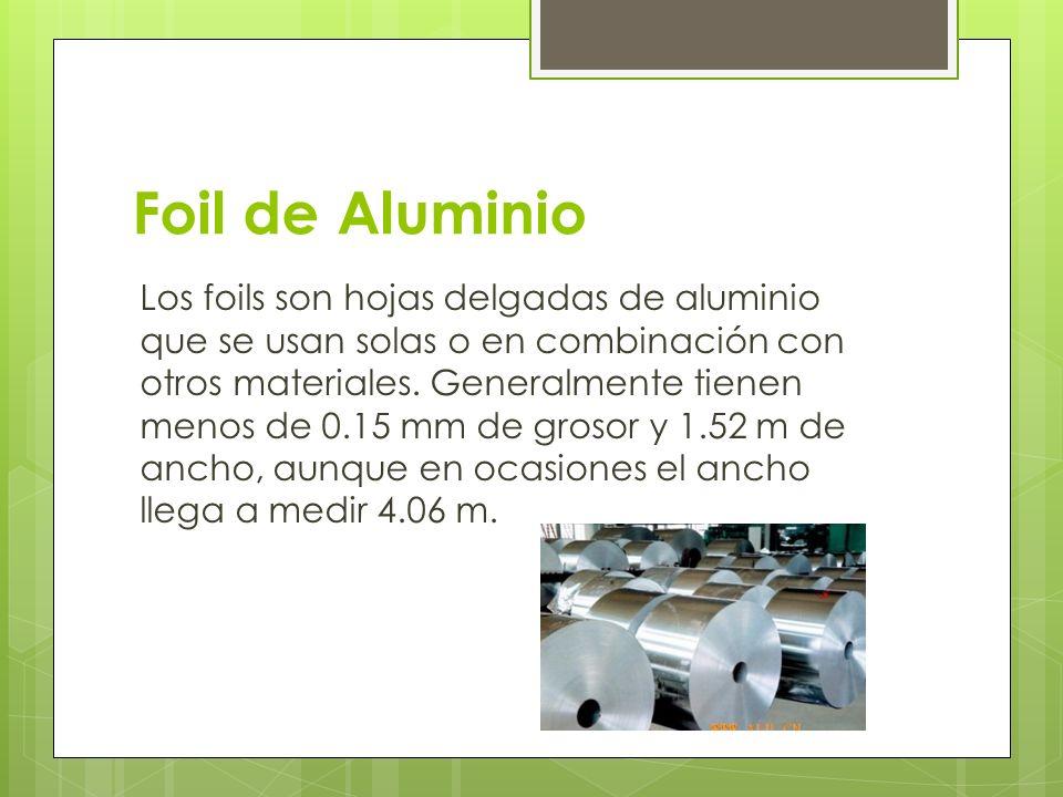 Foil de Aluminio