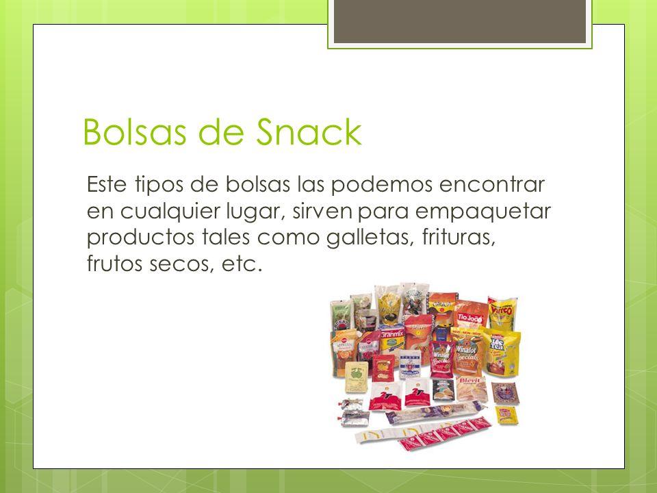 Bolsas de Snack