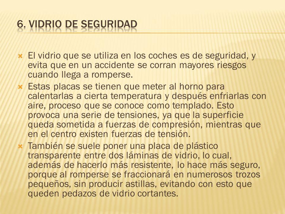 6. VIDRIO DE SEGURIDAD
