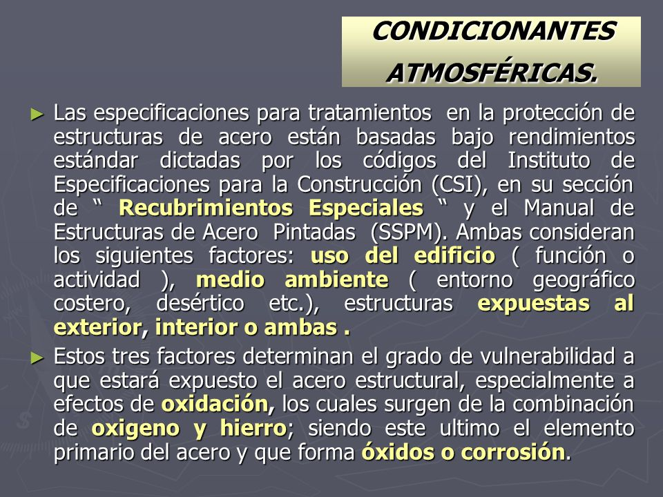 CONDICIONANTES ATMOSFÉRICAS.