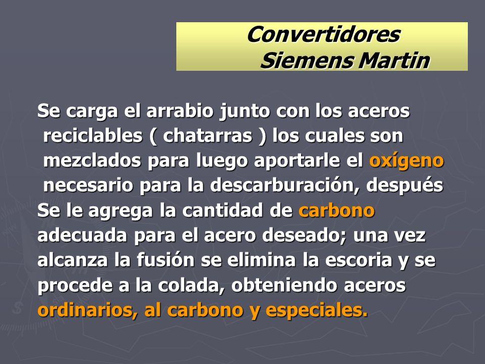 Convertidores Siemens Martin
