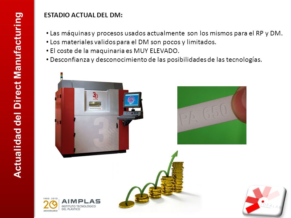 Actualidad del Direct Manufacturing