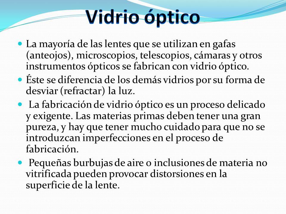 Vidrio óptico