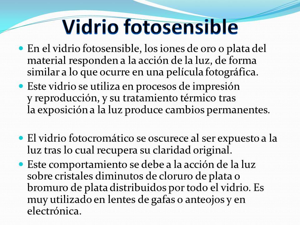 Vidrio fotosensible