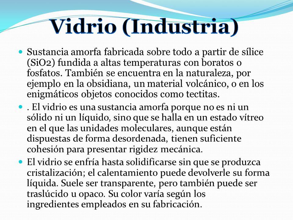 Vidrio (Industria)