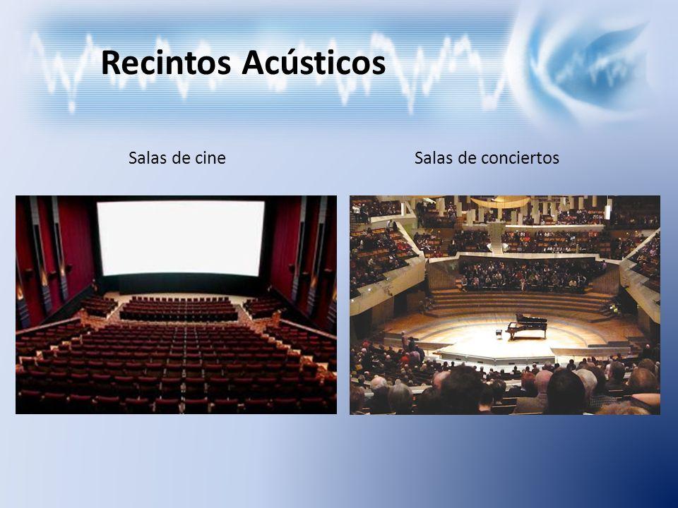 Recintos Acústicos Salas de cine Salas de conciertos