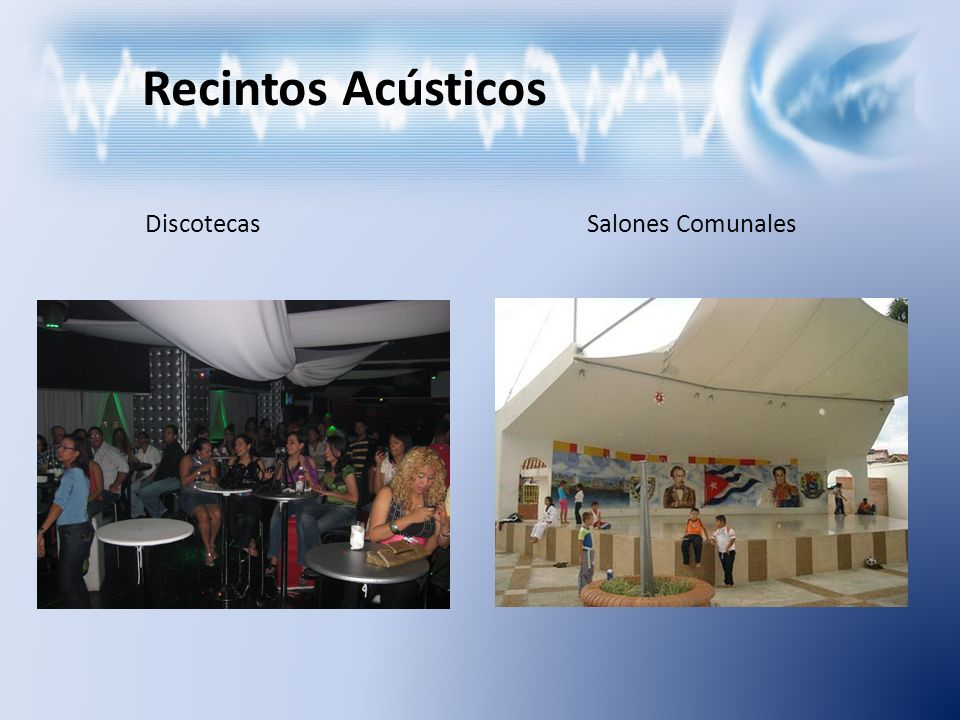 Recintos Acústicos Discotecas Salones Comunales