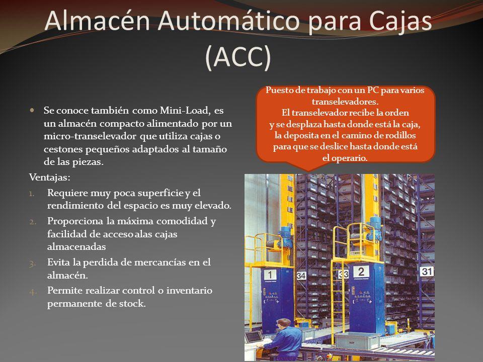 Almacén Automático para Cajas (ACC)